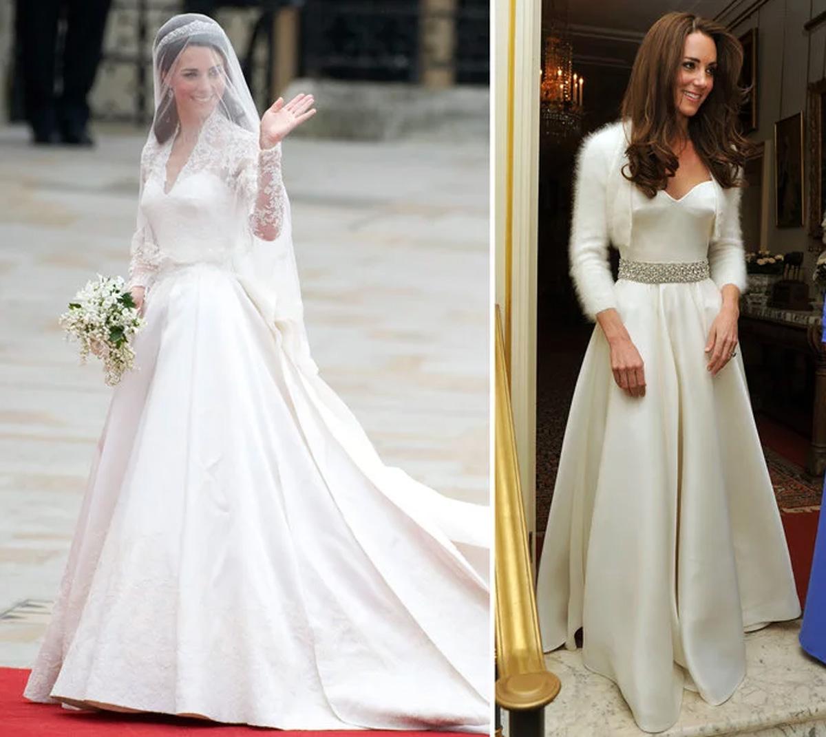 Vestido de novia de kate middleton precio