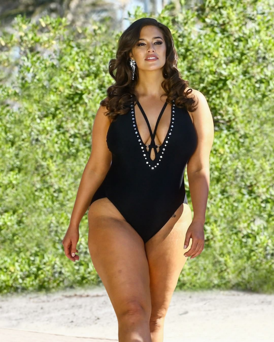 Swimsuits for all para chicas 'curvy'