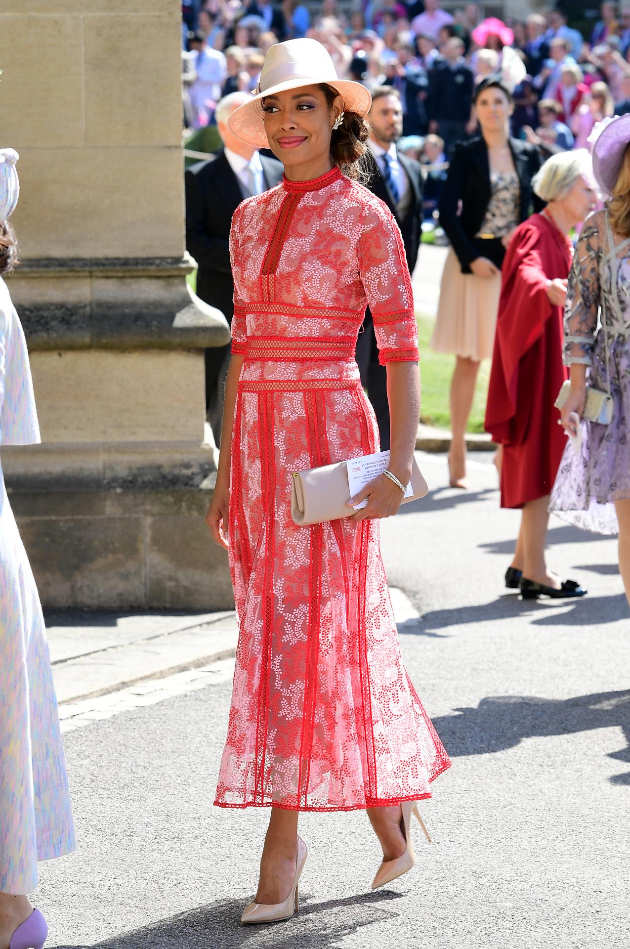 Los looks de los invitados a la boda de Meghan Markle y el Príncipe ...