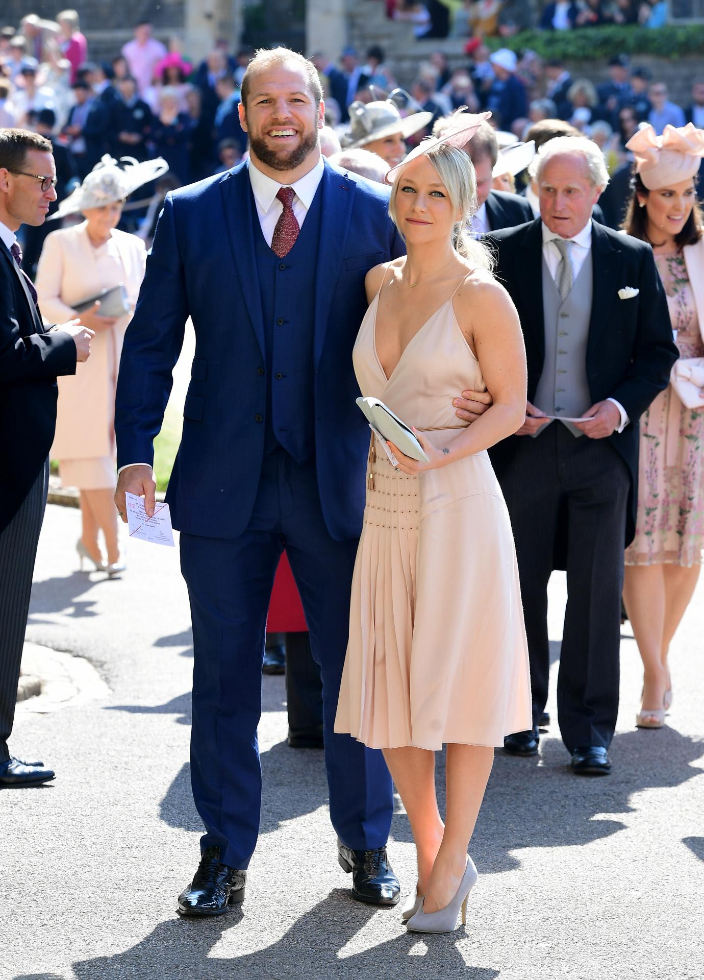 James Haskell y Chloe Madeley