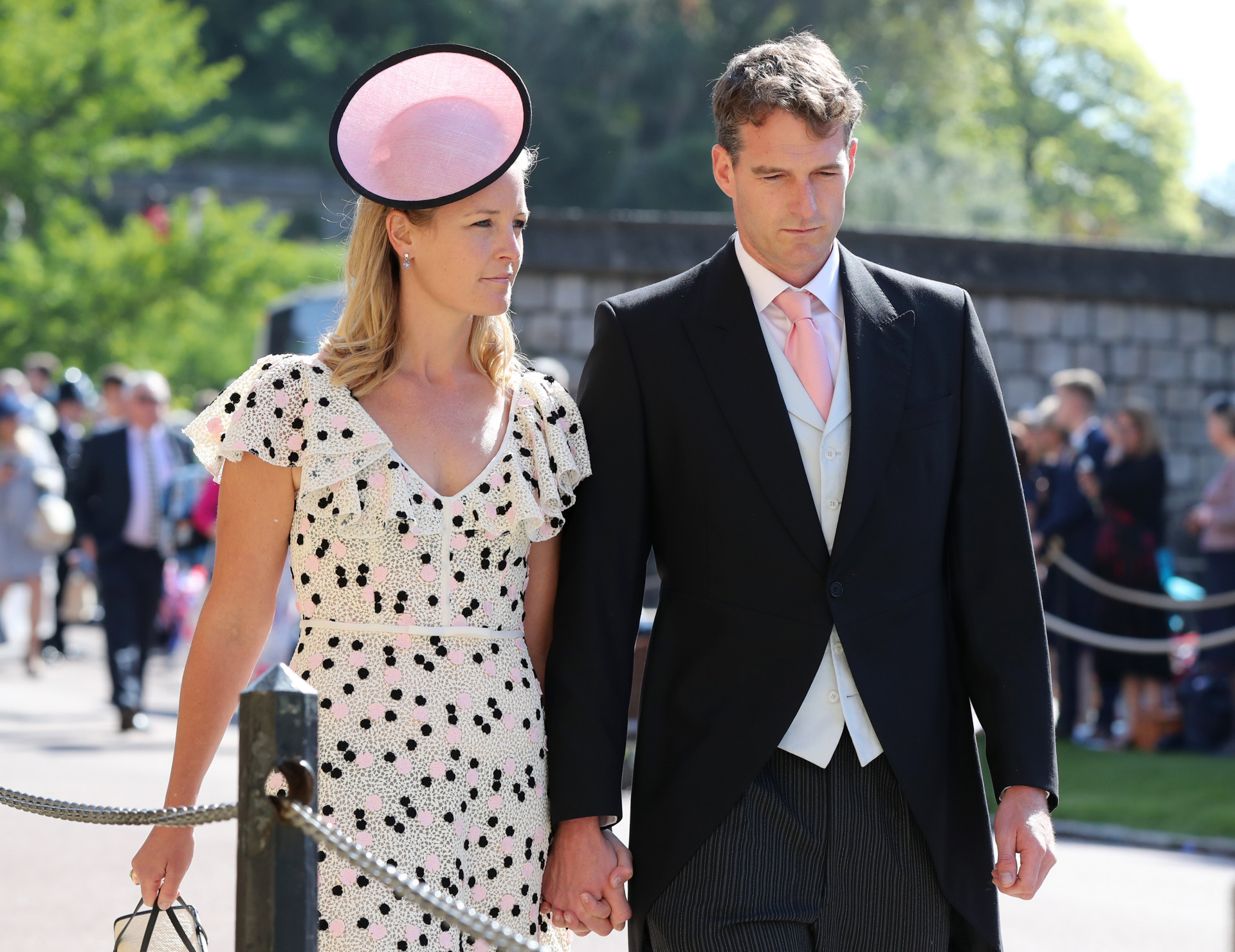 Lady Edwina Louise Grosvenor  y Dan Snow a