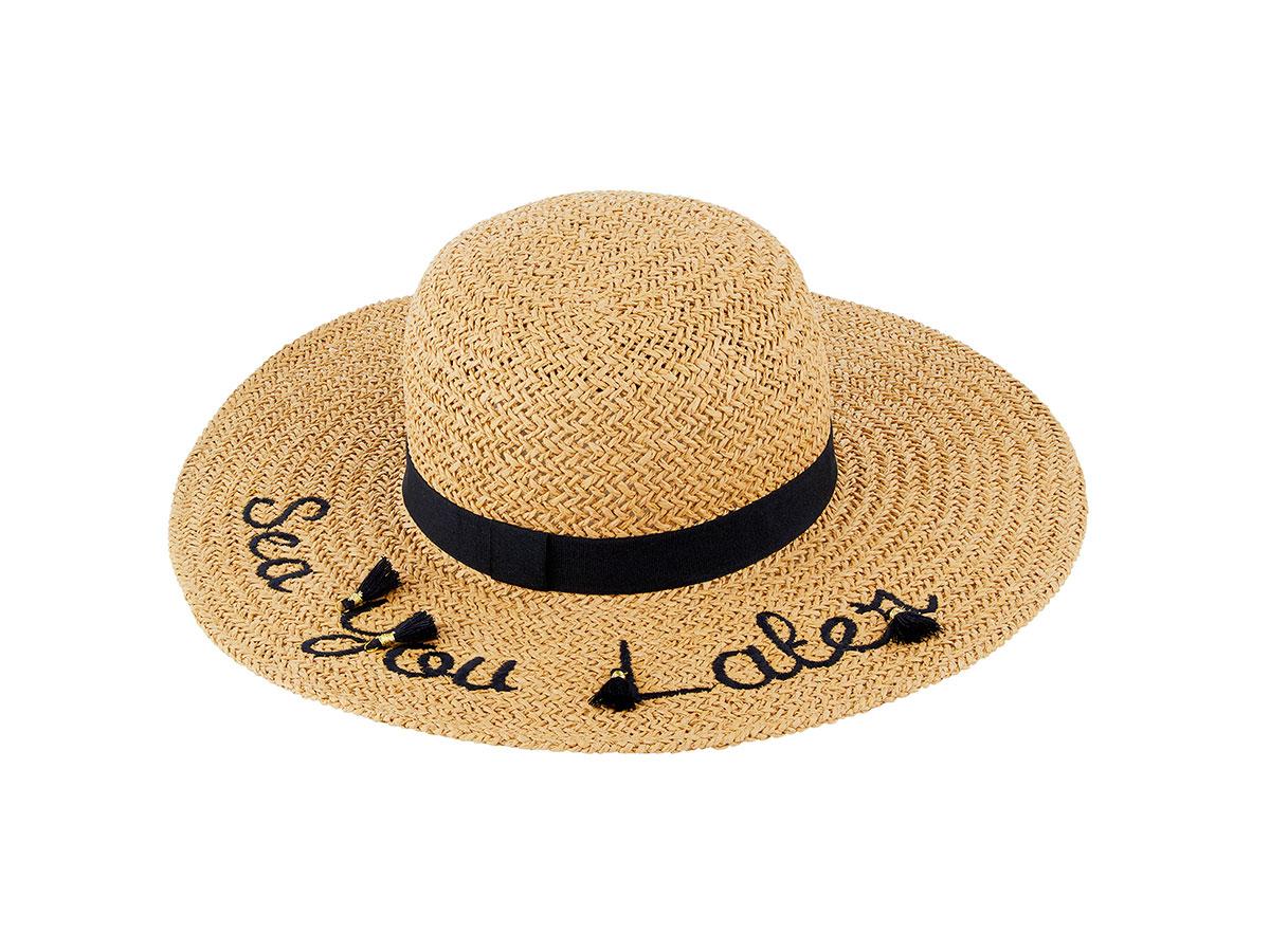 sara-carbonero-look-perfecto-sombrero-accessorize. Sombrero de paja a2dae4d6d43