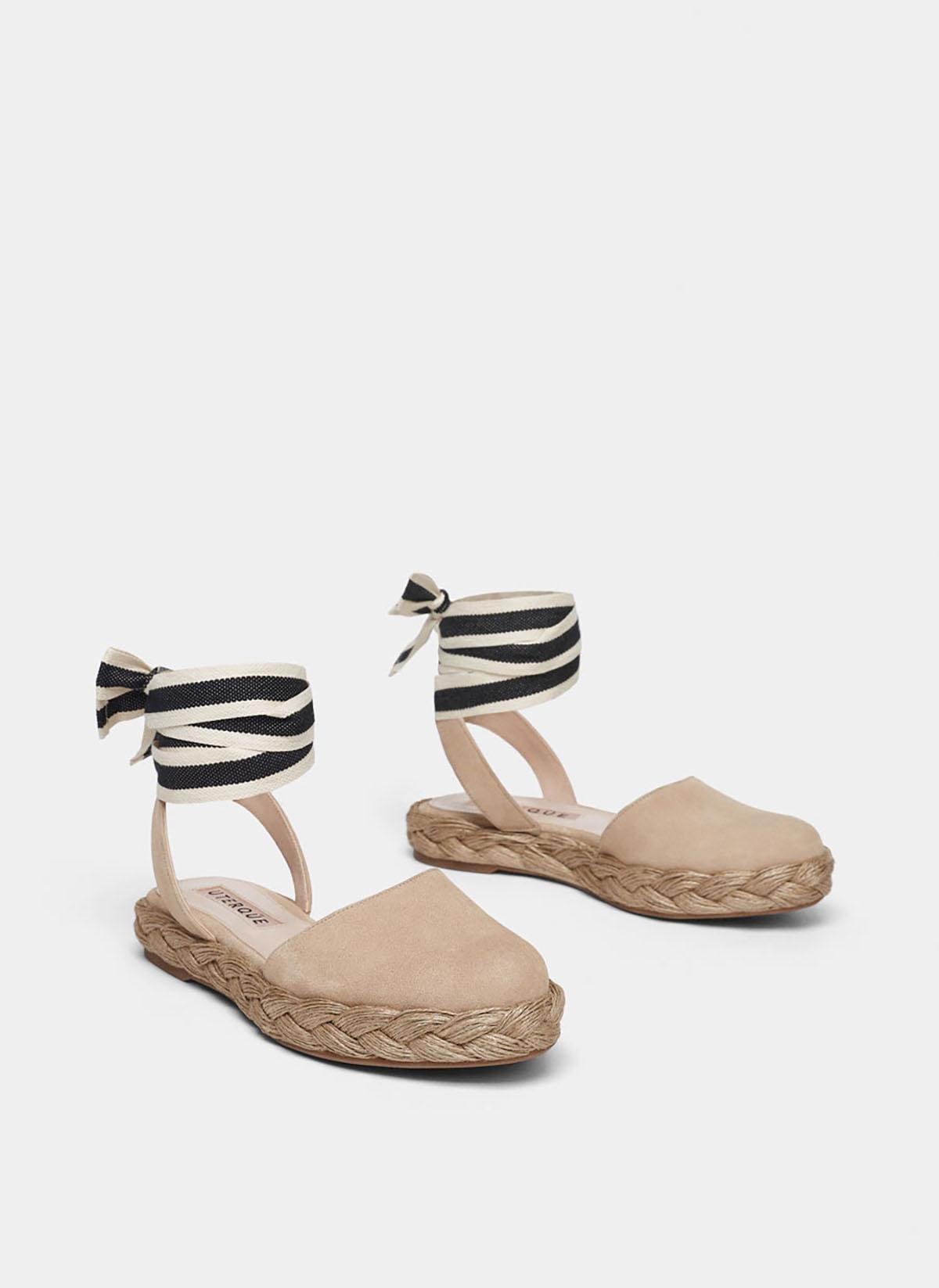diseño atemporal 8f25f 81a02 Alpargatas y sandalias de yute, los zapatos de primavera ...
