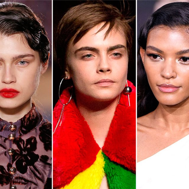 Las tendencias de maquillaje y peinados otoño-invierno 2018/19 (vistas en London Fashion Week)