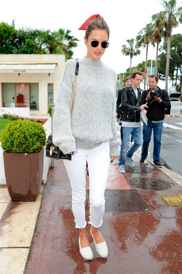 Alessandra Ambrosio look Cannes
