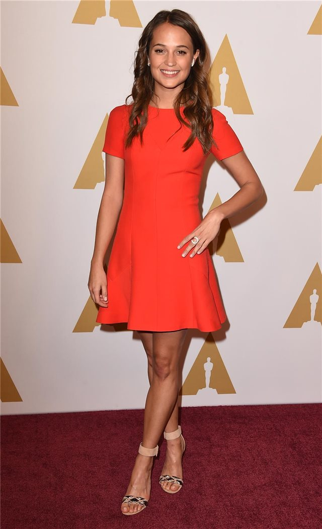 Alicia Vikander, de Louis Vuitton
