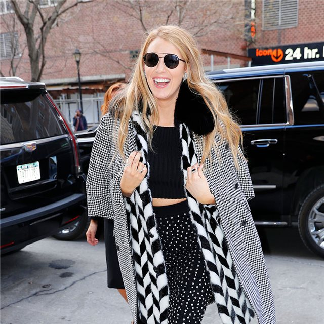 Blake Lively, mix de estampados
