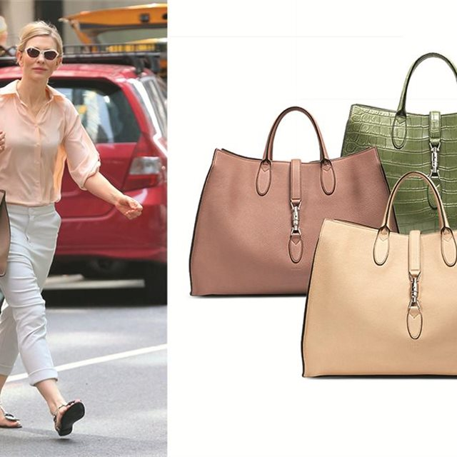 El 'shopping bag' de Cate Blanchett