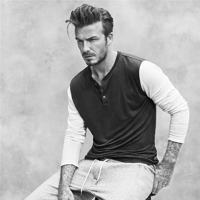 We love David Beckham