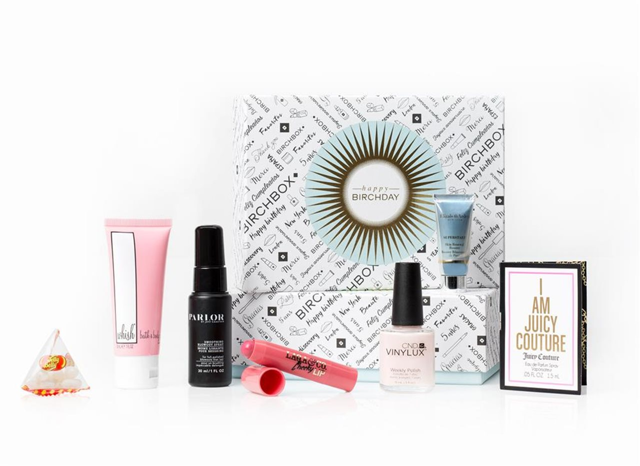 ¡Happy birthday, Birchbox!