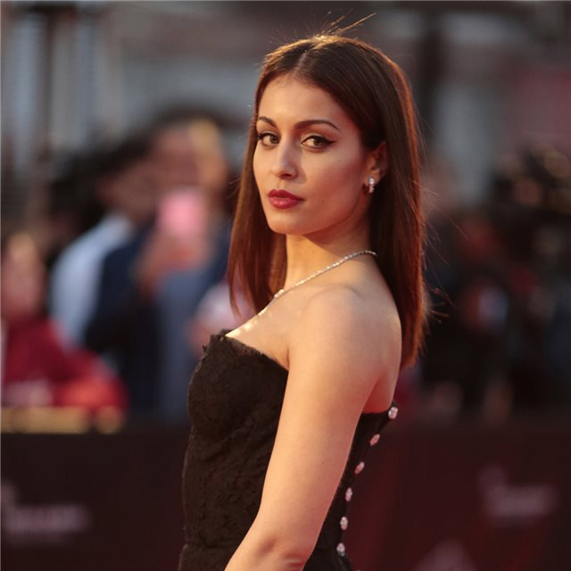Hiba Abouk, la nueva modelo de lencería de la Mercedes-Benz Fashion Week Madrid