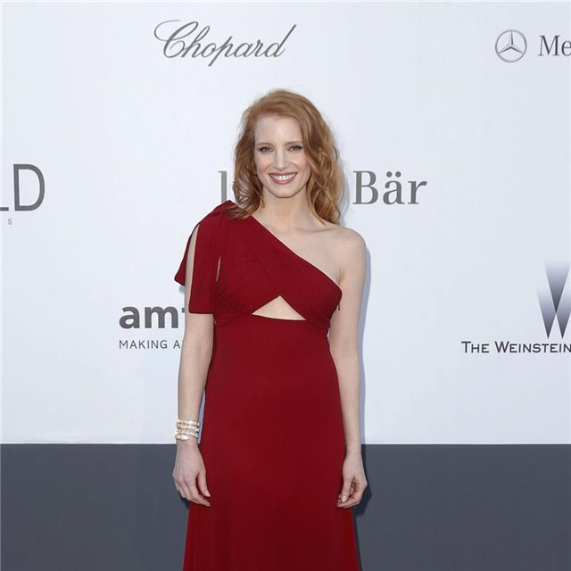Jessica Chastain, de Yves Saint Laurent