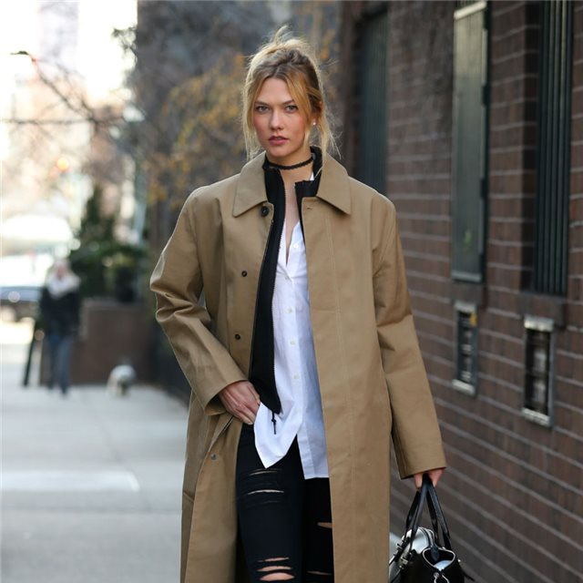 Karlie Kloss y el perfecto look 'working girl'