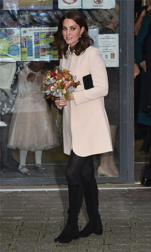 Kate Middleton look del día
