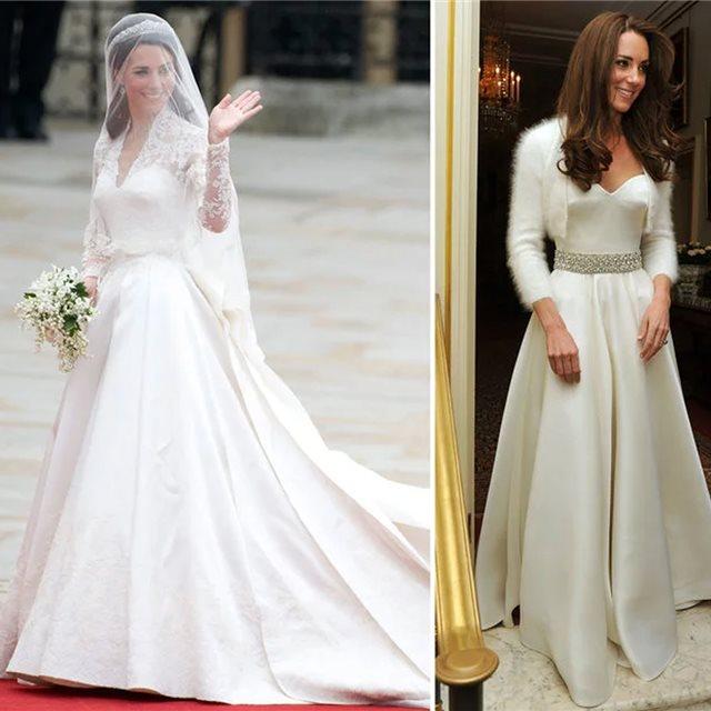 los vestidos de novia más memorables de las famosas - instyle