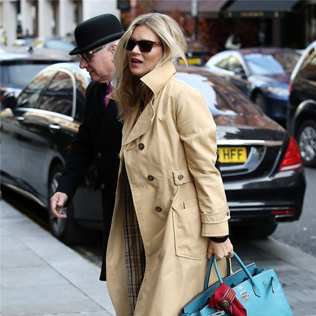 Kate Moss y su perfecto look 'made in England'