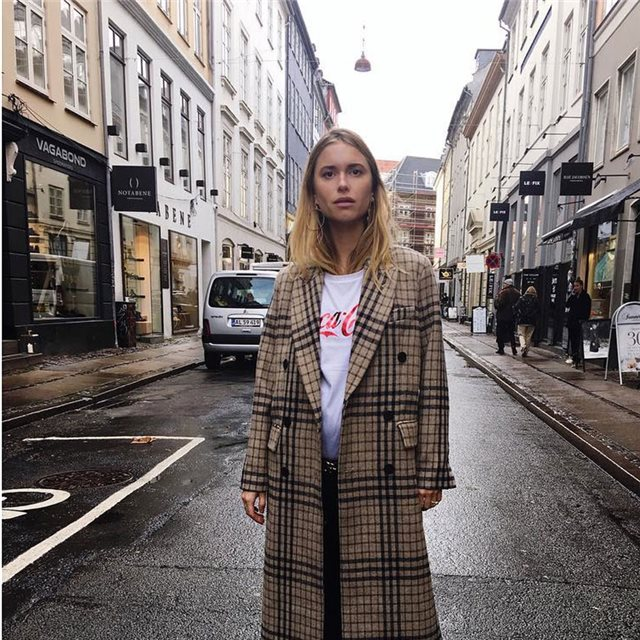Consigue el look de Pernille Teisbaek, la it girl del momento