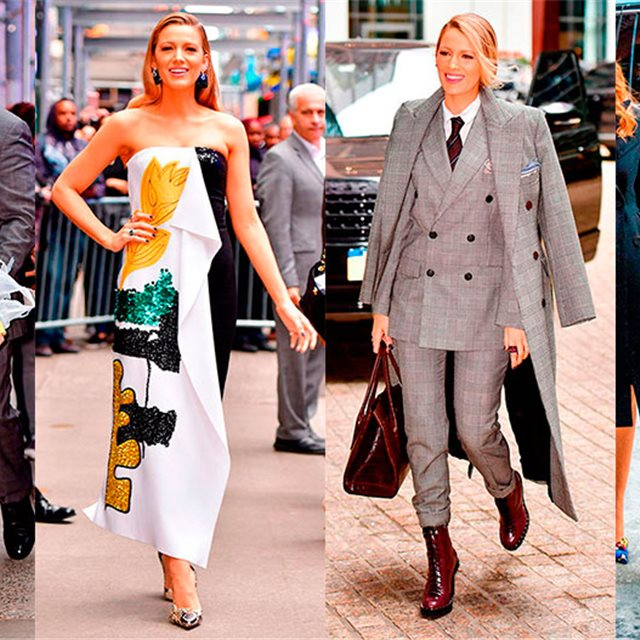 Los mejores looks 'street style' de Blake Lively