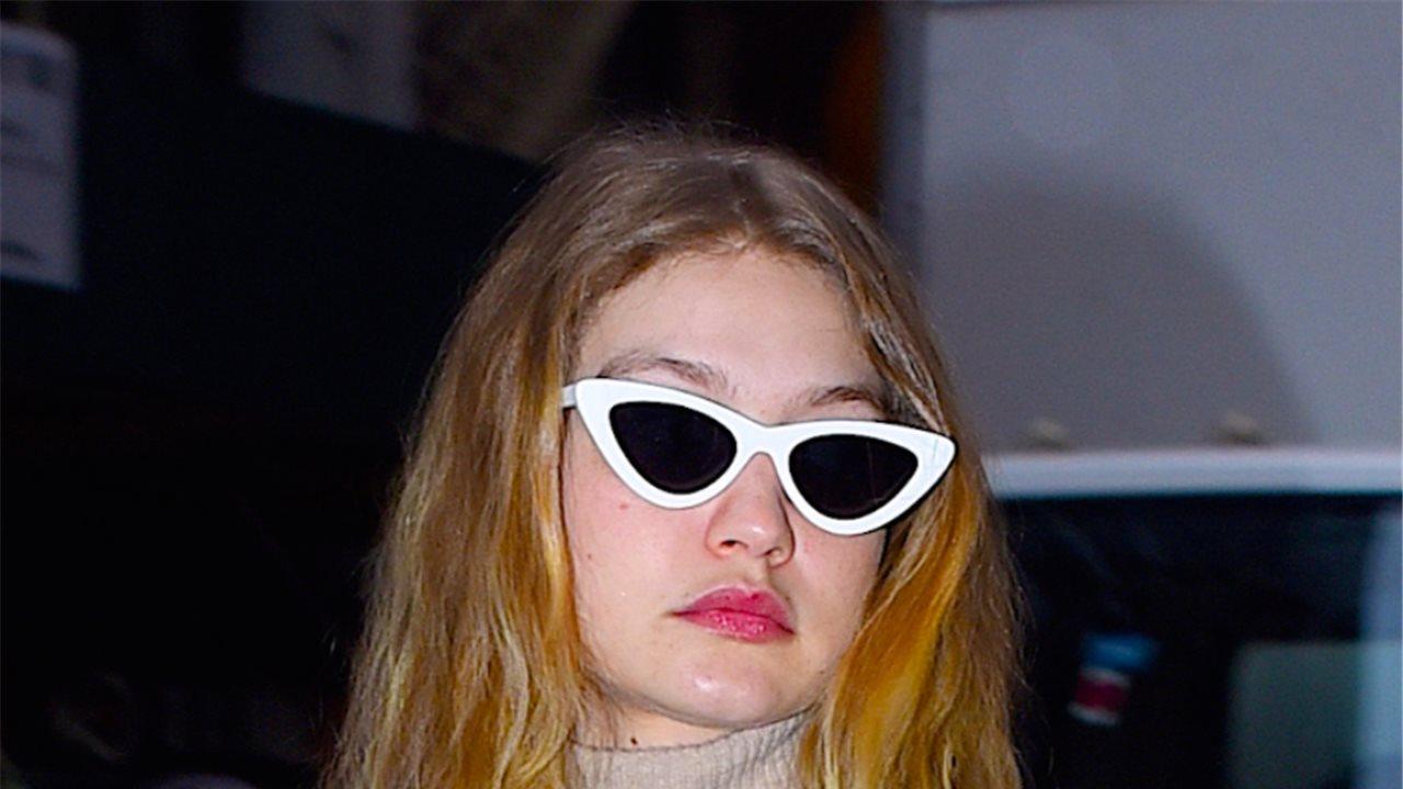 f3e80fe5e Los botines blancos de charol de Gigi Hadid que querrás tener en primavera  - InStyle