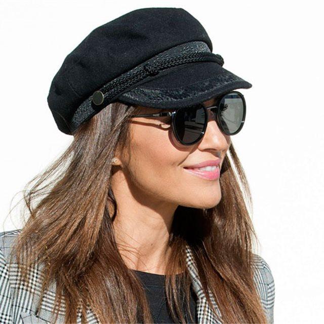 Los gorros y sombreros de mujer que lucirás este invierno 1f97ec46572