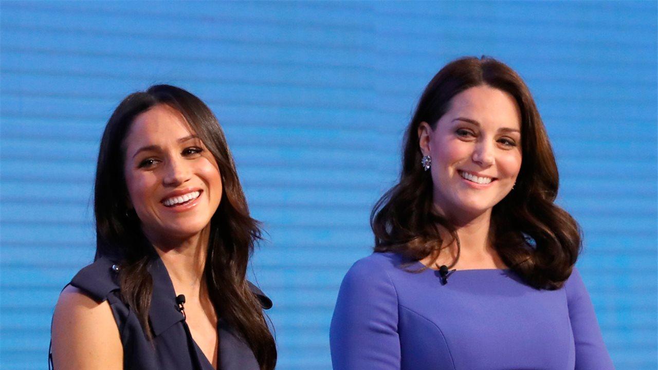 87611b286 El duelo de estilo (solidario) de Kate Middleton y Meghan Markle - InStyle