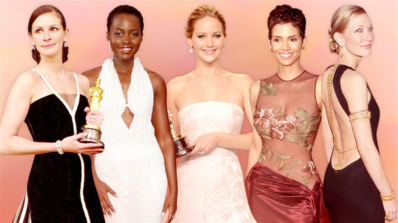 ¿Son estos los 10 mejores vestidos de la historia de los Oscar?