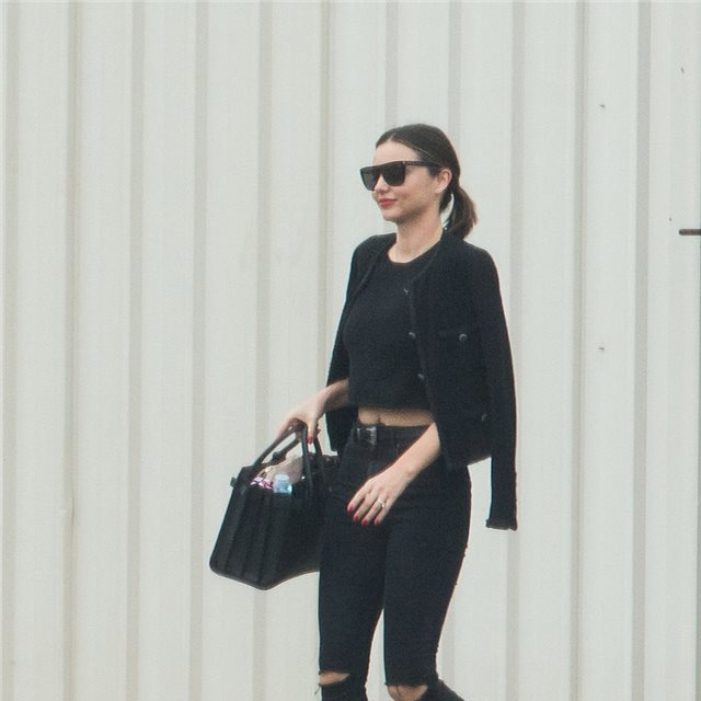 Miranda Kerr, pulcro estilo 'working girl'