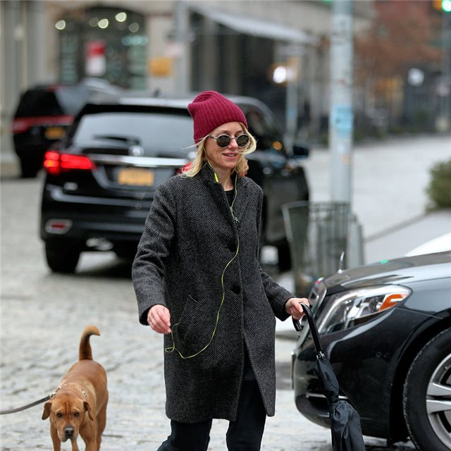 Naomi Watts y su 'urban look'