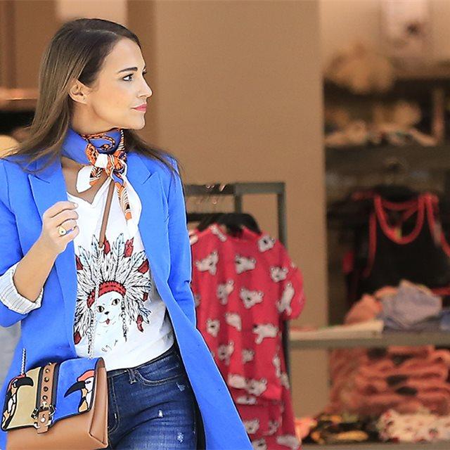 125b1fecc El kimono, la nueva prenda preferida de Paula Echevarría para el entretiempo