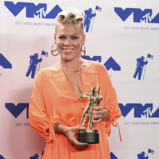 El discurso más conmovedor de Pink en los MTV Video Music Awards