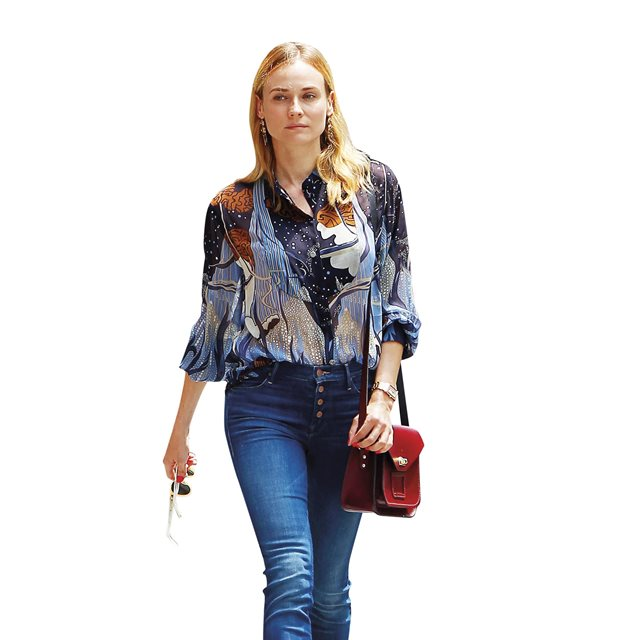 Copia el look de Diane Kruger