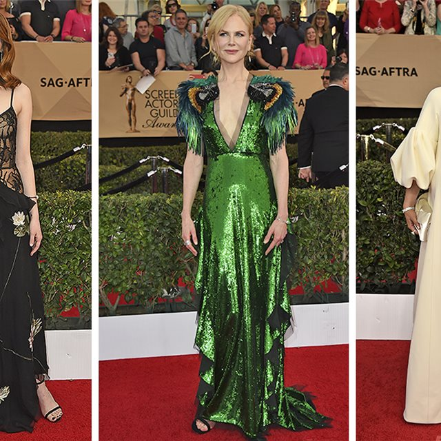 La alfombra roja de los Screen Actors Guild Awards