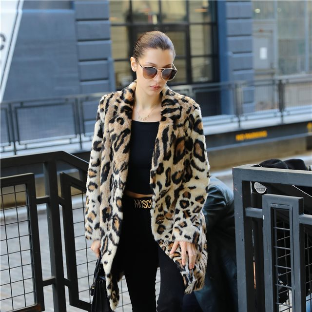 La celebrities se apuntan al 'animal print'