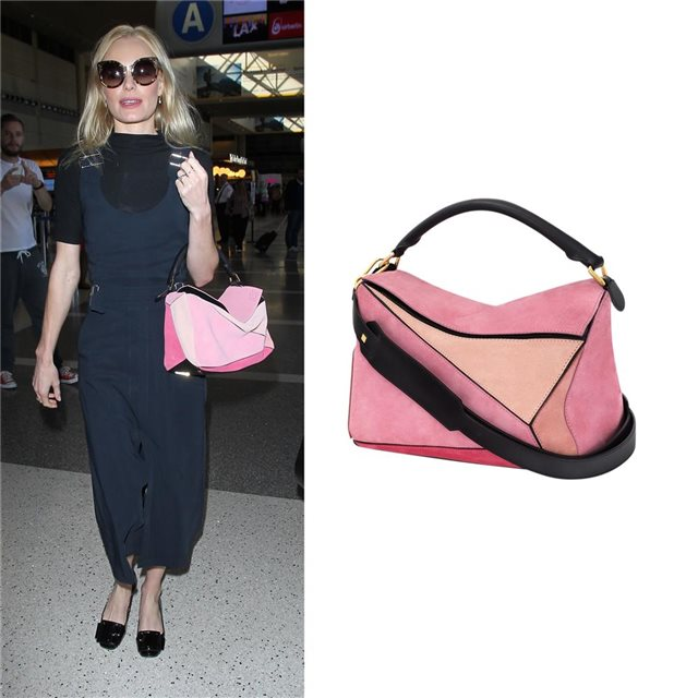 El bolso multicolor de Kate Bosworth