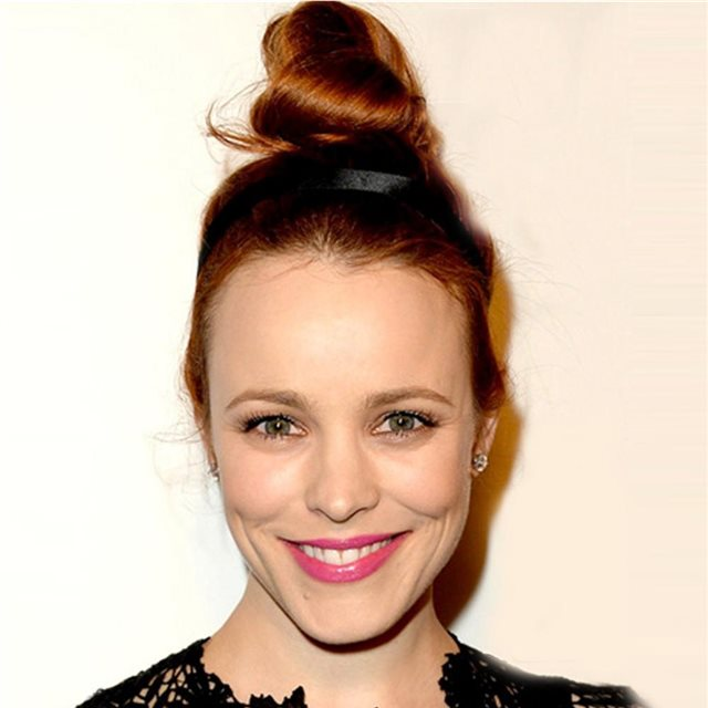 El look natural de Rachel McAdams