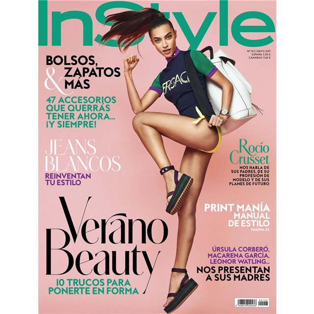 Rocío Crusset, protagonista de InStyle mayo 2017