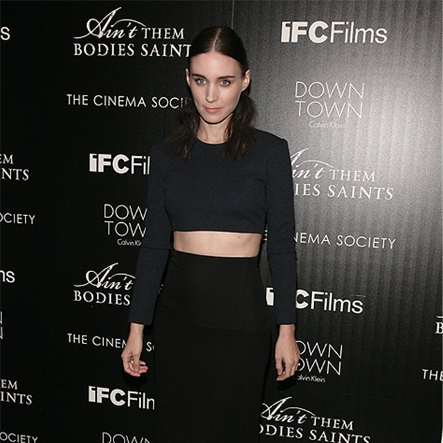 Rooney Mara, de Calvin Klein Collection
