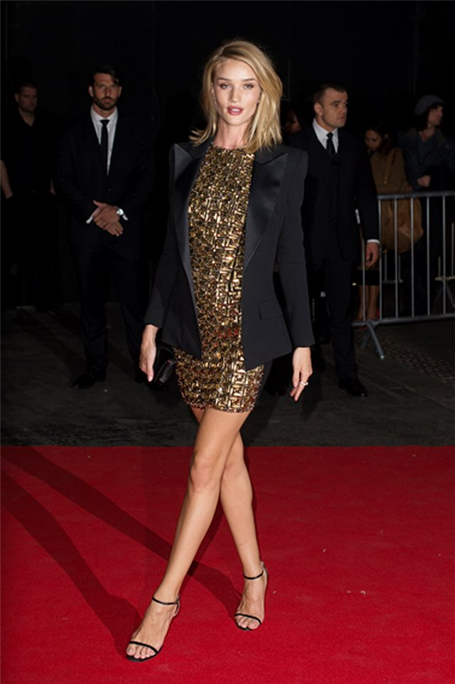 Rosie Huntington-Whiteley, de Antonio Berardi