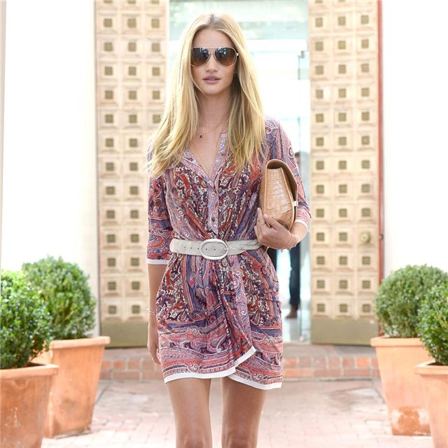 Rosie Huntington-Whiteley, de Isabel Marant