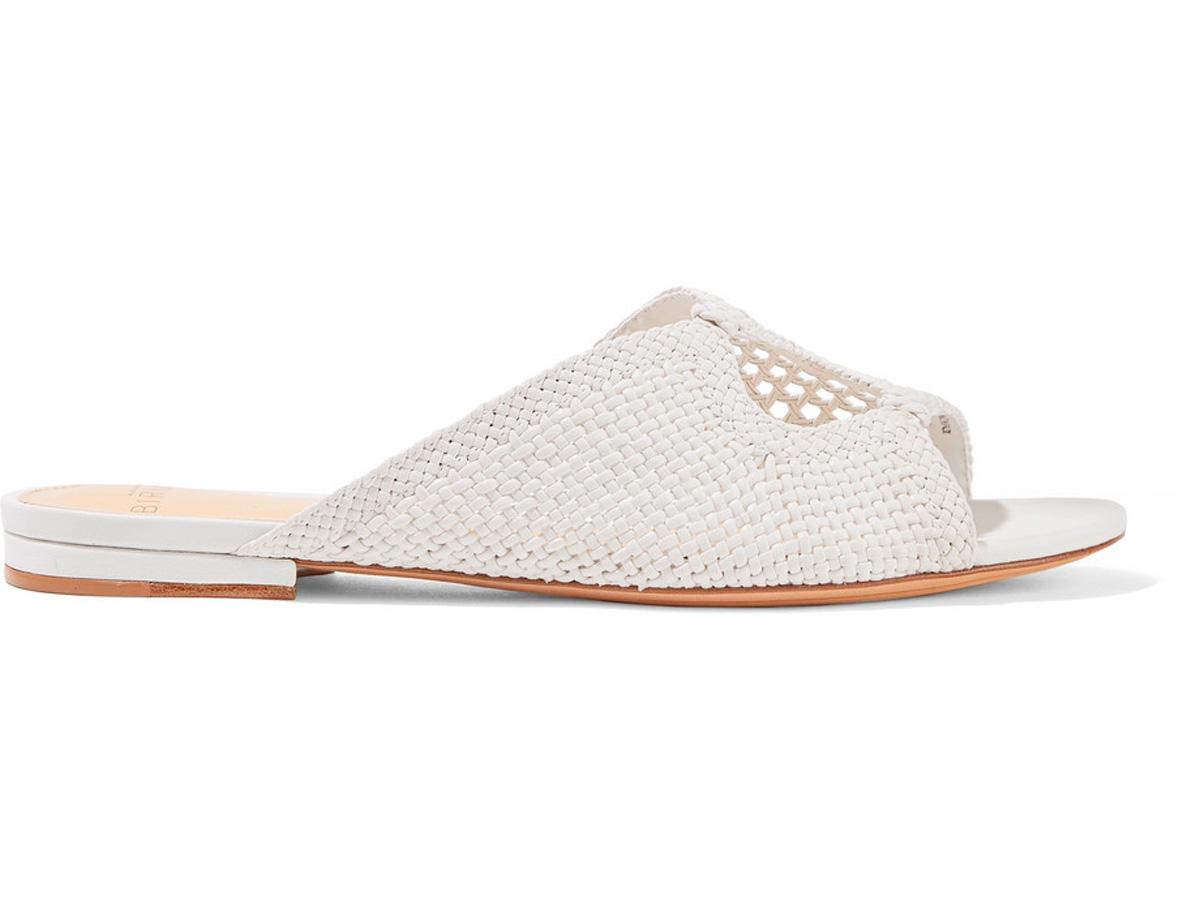 bcb9062b7 zapatos-trenzados-slides. Trenzados y blancos