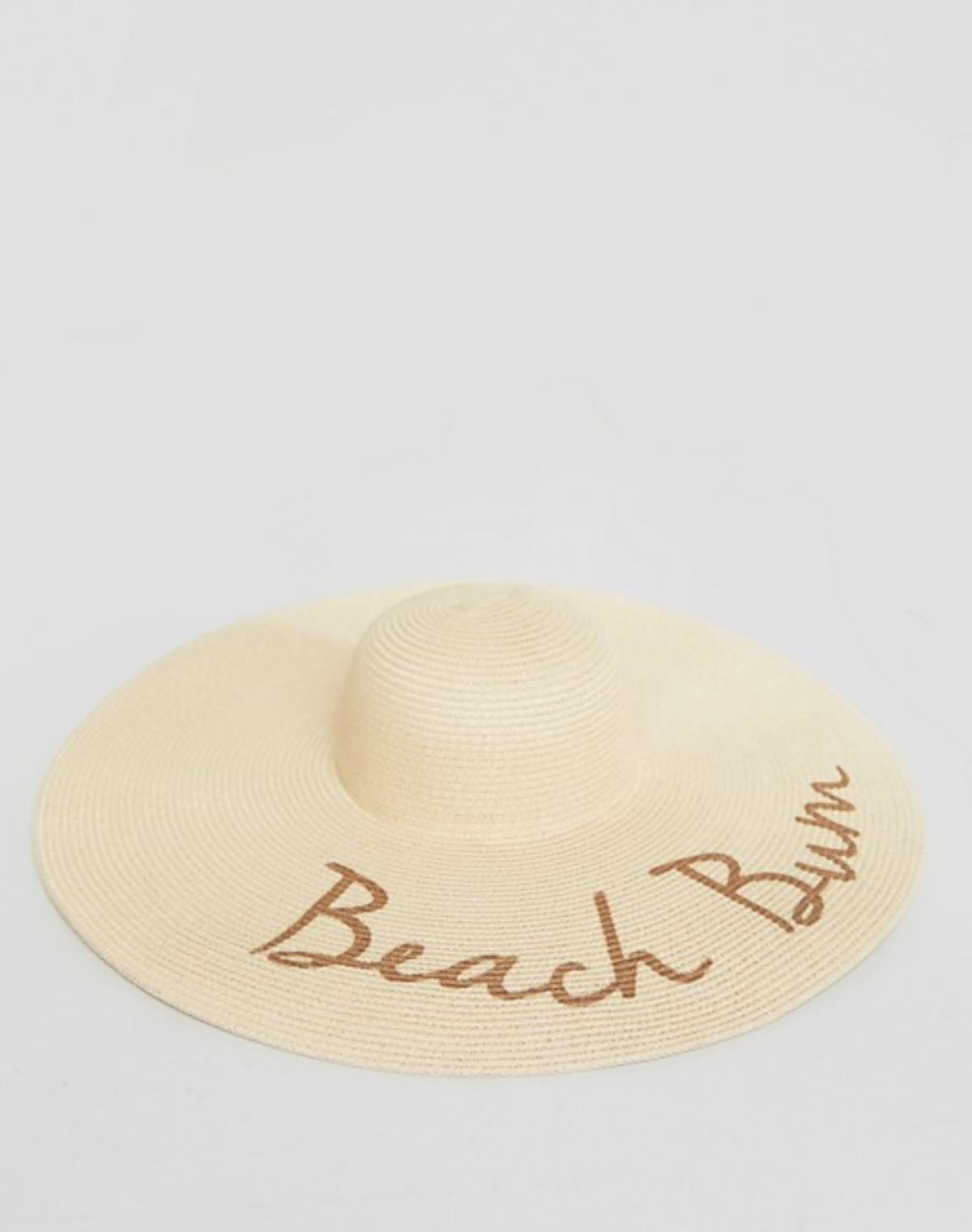 asos-sombrero-paja-eslogan. Sombrero de paja con eslogan d8196272140