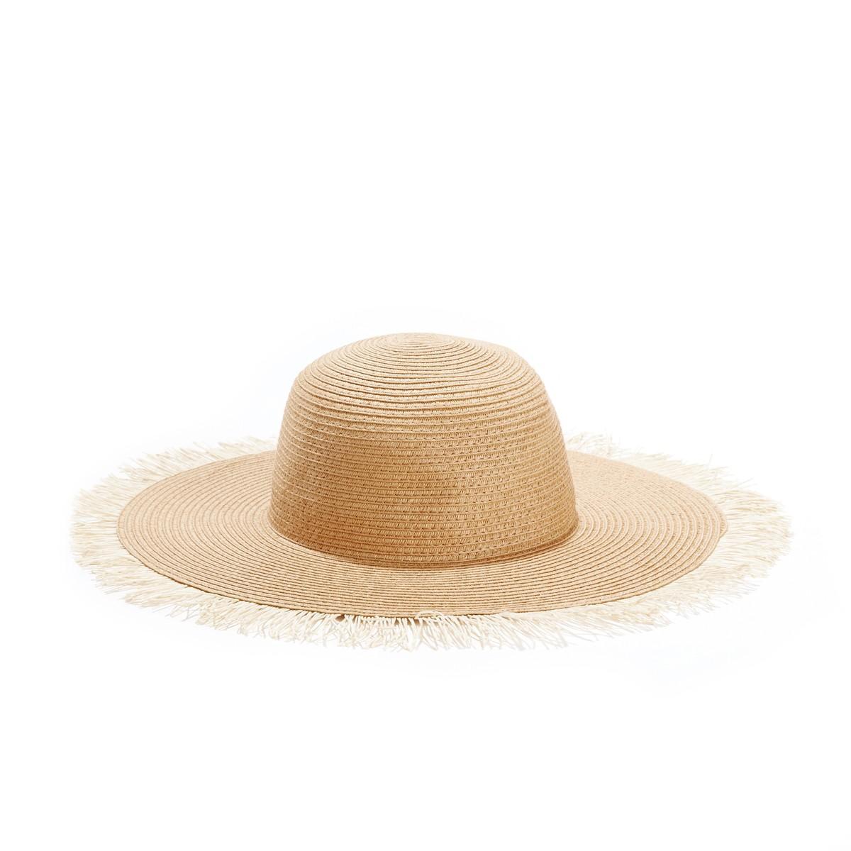 46bfd32359f4b laredoutte-sombrero-paja-deshilachado. Pamela deshilachada