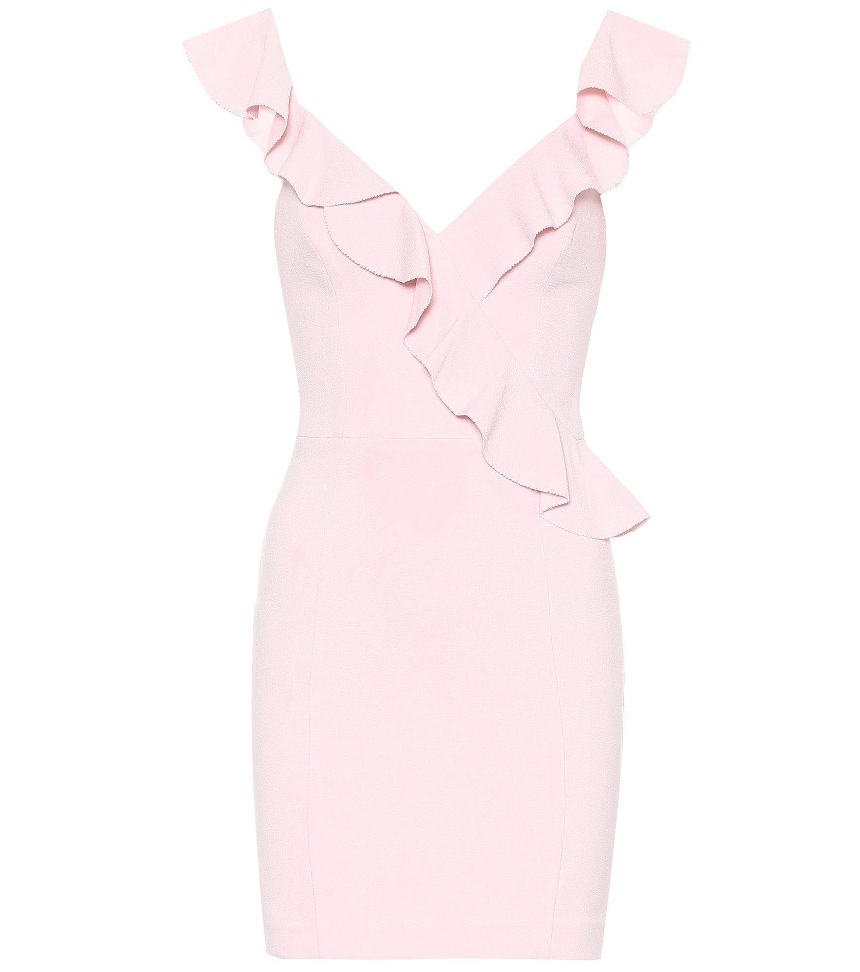 abe528f217ffc rebecca-vallance-vestido-rosa-crepe. Vestido rosa en crepé
