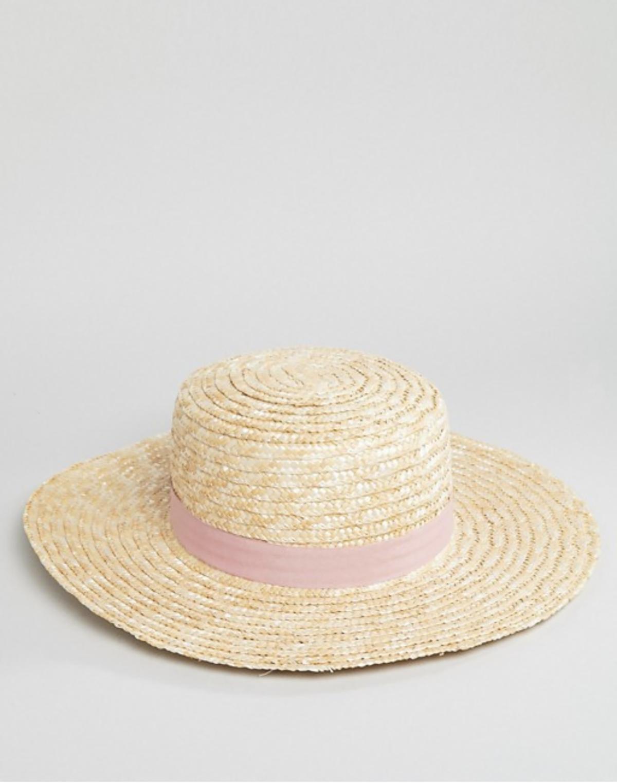 south-beach-sombrero-canotie-paja. Sombrero con lazo rosa ff488ea8fb8