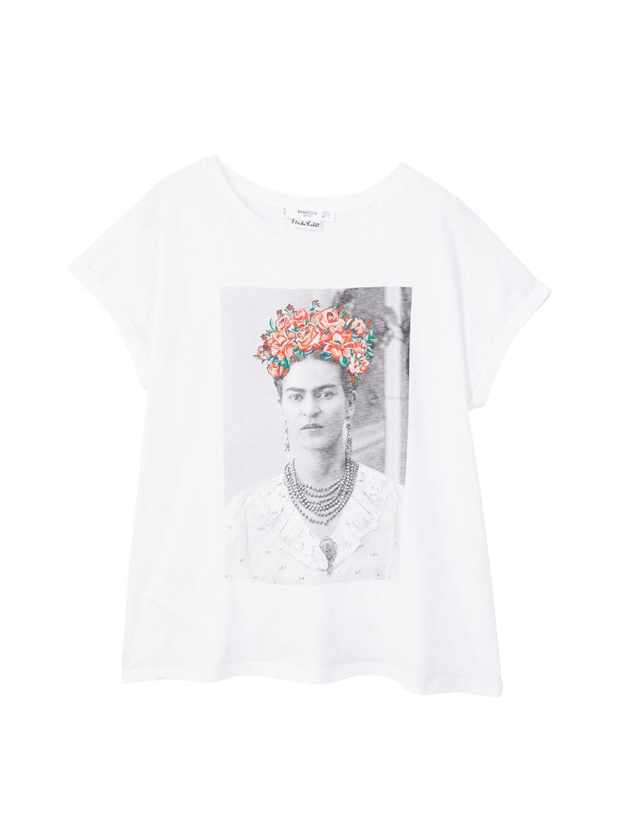 c62fbad32c La camiseta de Frida Kahlo de Stradivarius que tiene Cristina ...