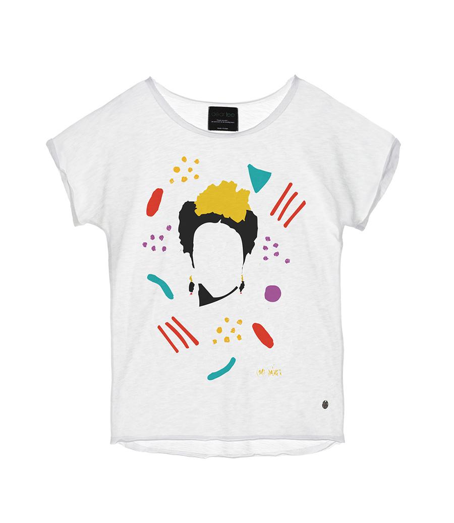 2271ea9944 camiseta-mujer-frida. Las camisetas de Frida Kahlo están más de moda que