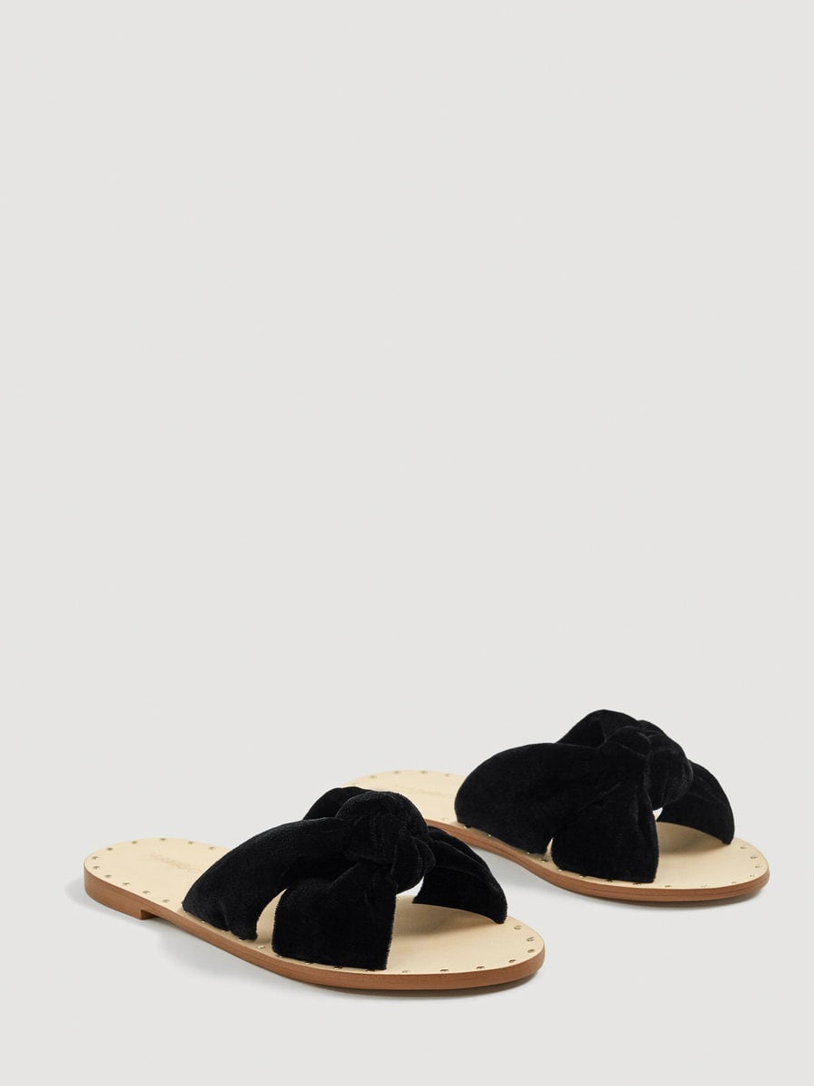 2abb17393d0 Sandalia Plana Mujer Mango Lazo. Las sandalias de mujer más baratas del  verano