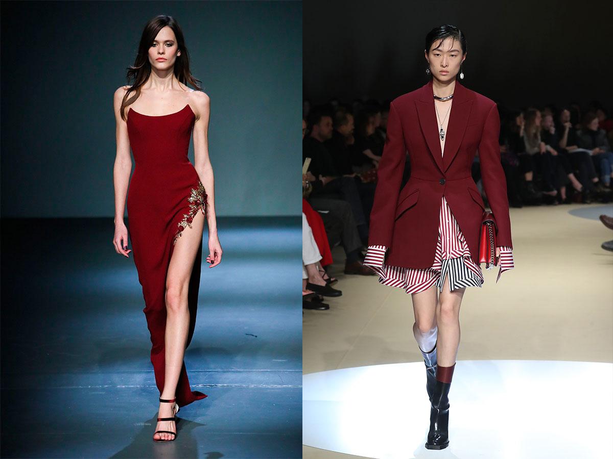 colores-moda-otoño-invierno-borgoña. Color borgoña  el más clásico 2e9c589ab474