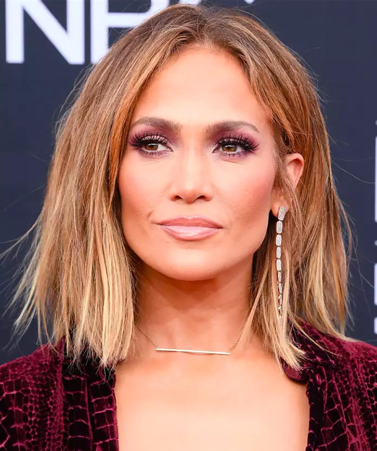 jennifer-lopez-mechas-balayage. Jennifer Lopez