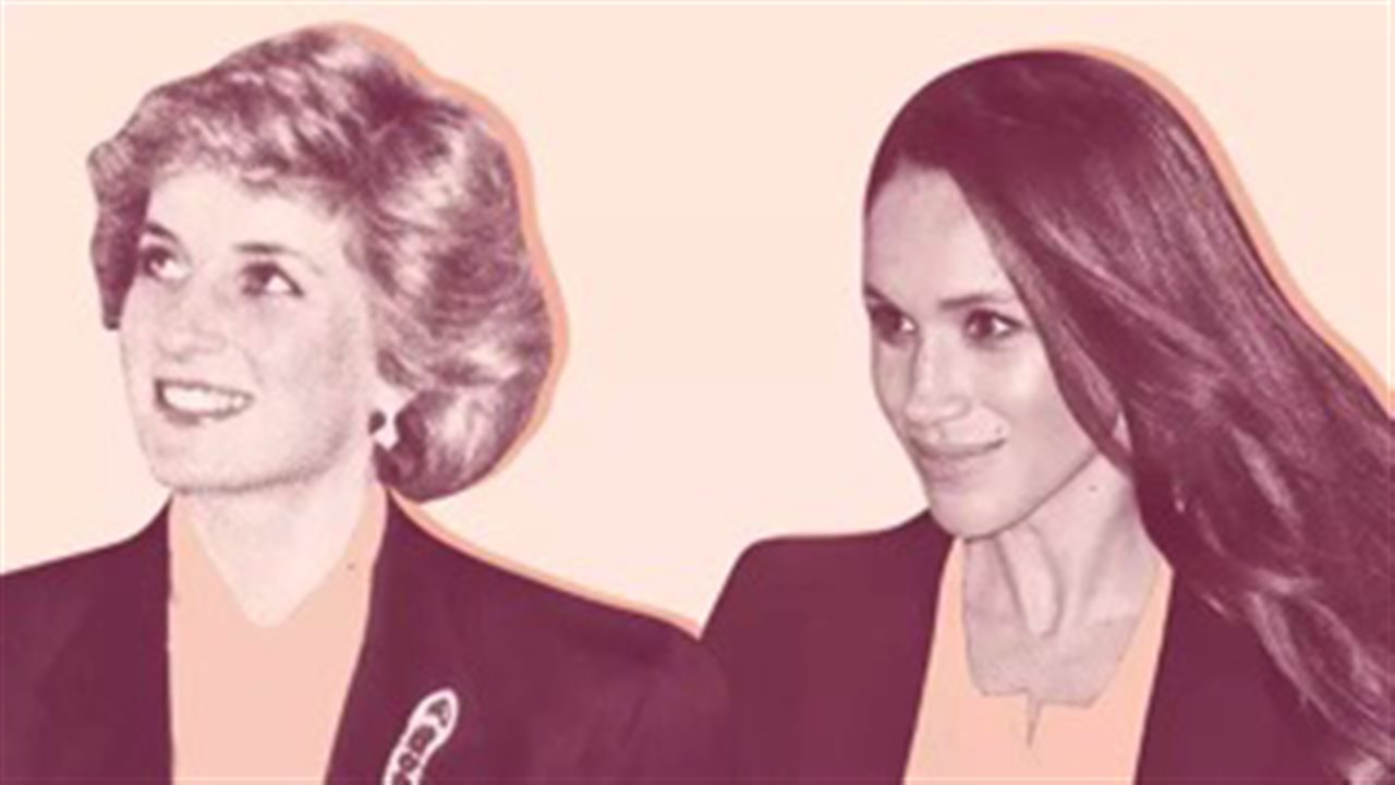 Las cosas que Diana de Gales y Meghan Markle tienen en común - InStyle